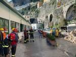 Frana ad Amalfi: Anas a lavoro