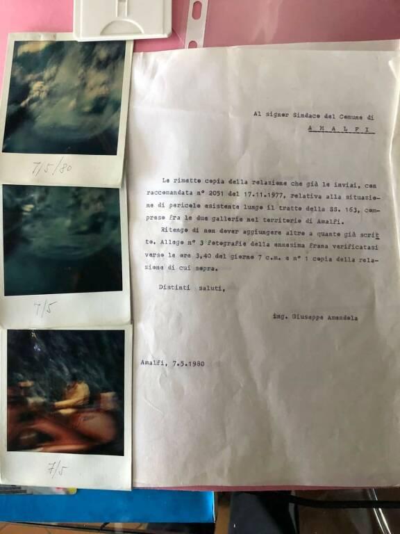 Frana: Relazione Giuseppe Amandola del 1977