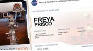 Freya Prisco: una positanese su Marte con Perseverance