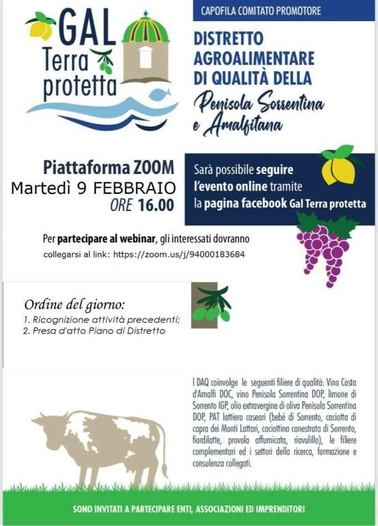 GAL terra Protetta e DAQ Penisola Sorrentina e Amalfitana