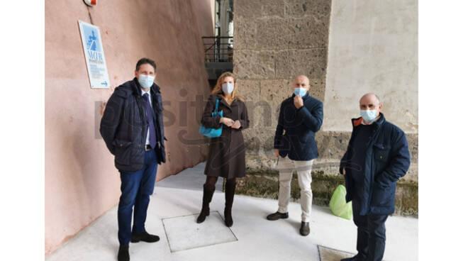 Giornata storica a Positano, iniziano gli scavi di un nuovo ambiente della Villa Romana