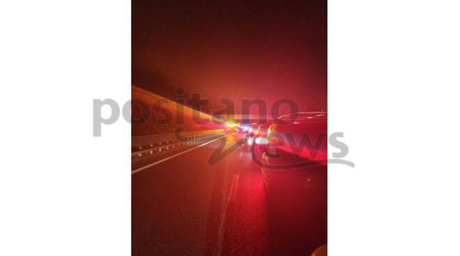 Grave incidente sull'A3 Napoli-Salerno, traffico paralizzato