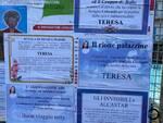 Il cordoglio dell'intera Maiori per la scomparsa di Teresa: centinaia di manifesti