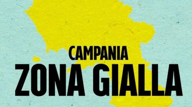 La Campania resta zona gialla almeno fino al giorno di San Valentino