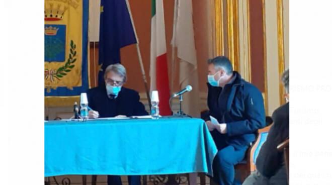 """Le proposte del presidente del consorzio """"Amalfi di Qualità"""" Gennaro Pisacane all'assessore Felice Casucci"""