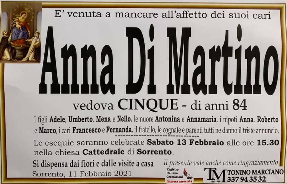 manifesto anna di martino