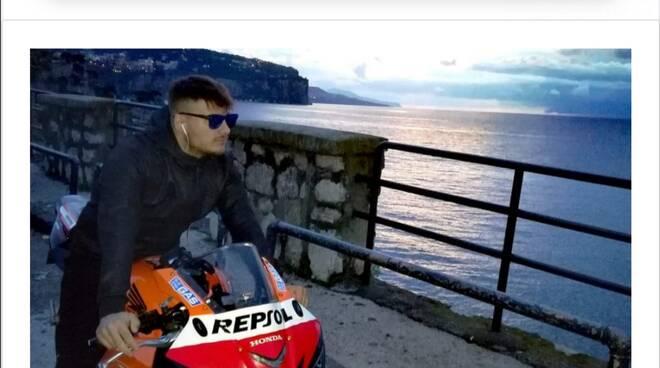 Motociclista morto di Torre Annunziata