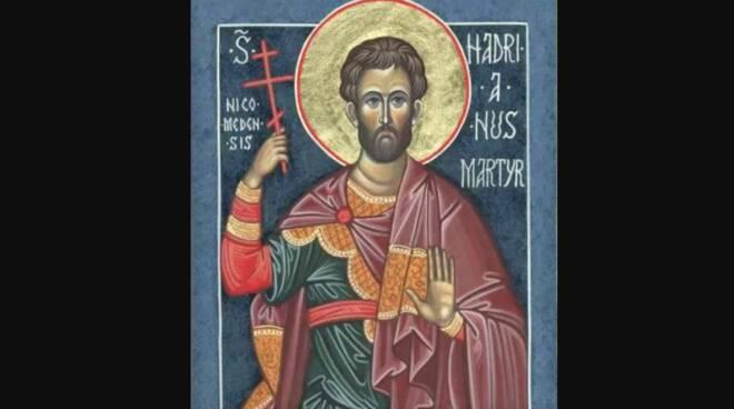 Oggi la Chiesa festeggia Sant' Adriano di Cesarea