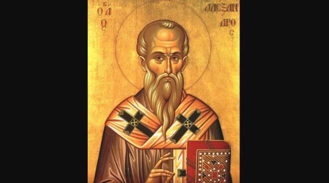 Oggi la Chiesa festeggia Sant'Alessandro di Alessandria