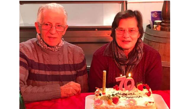 Piano di Sorrento, auguri ad Annamaria Cunti di Zio Sam per i suoi 70 anni