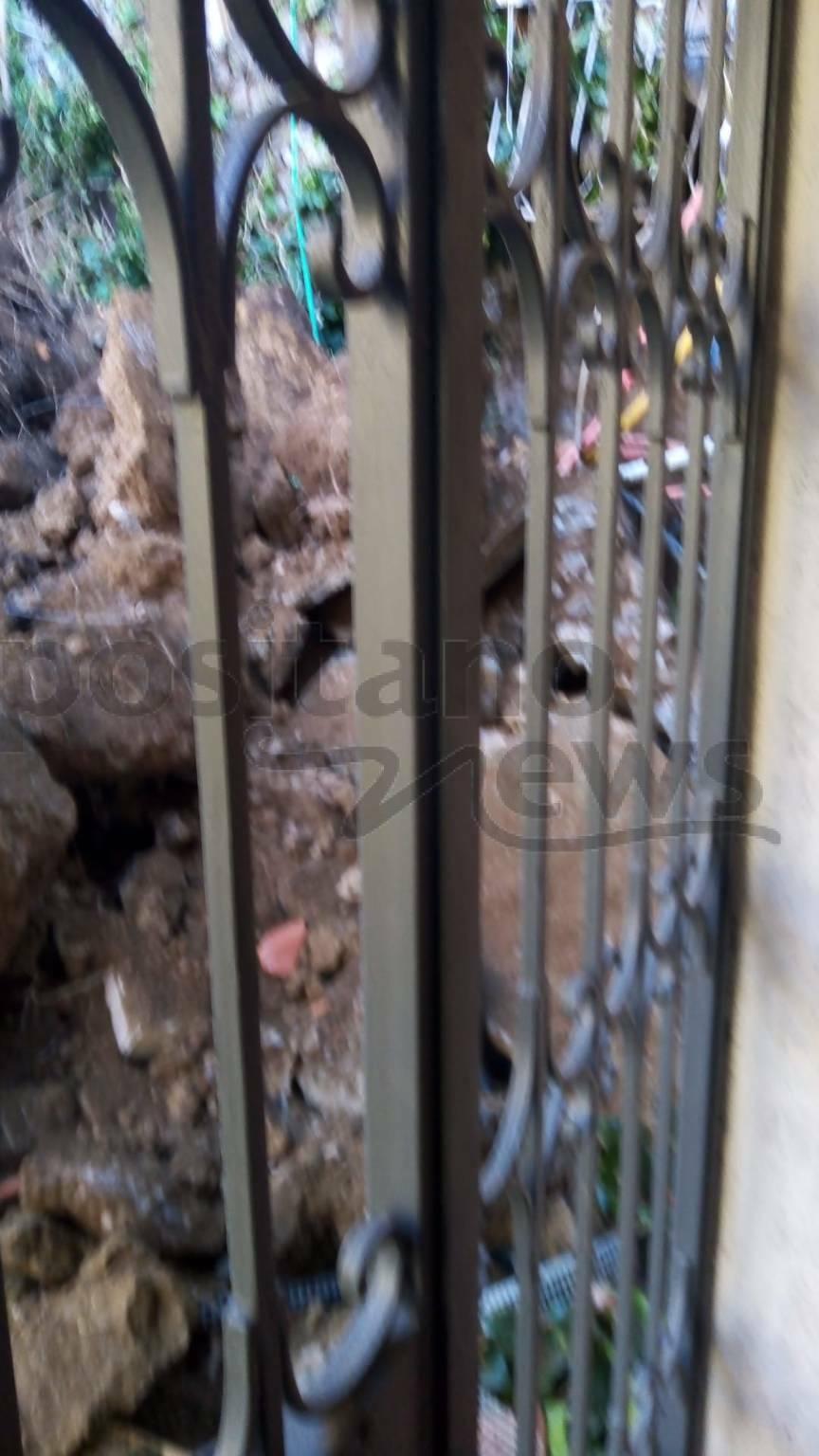 Positano: crollata una casa a Liparlati