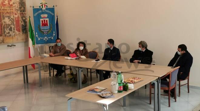 Positano, incontro con l'Assessore al Turismo della Regione Campania Prof. Felice Casucci