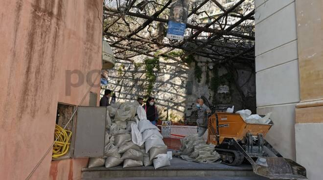 Positano, proseguono gli scavi della Villa Romana. Scesi a 6 metri di profondità