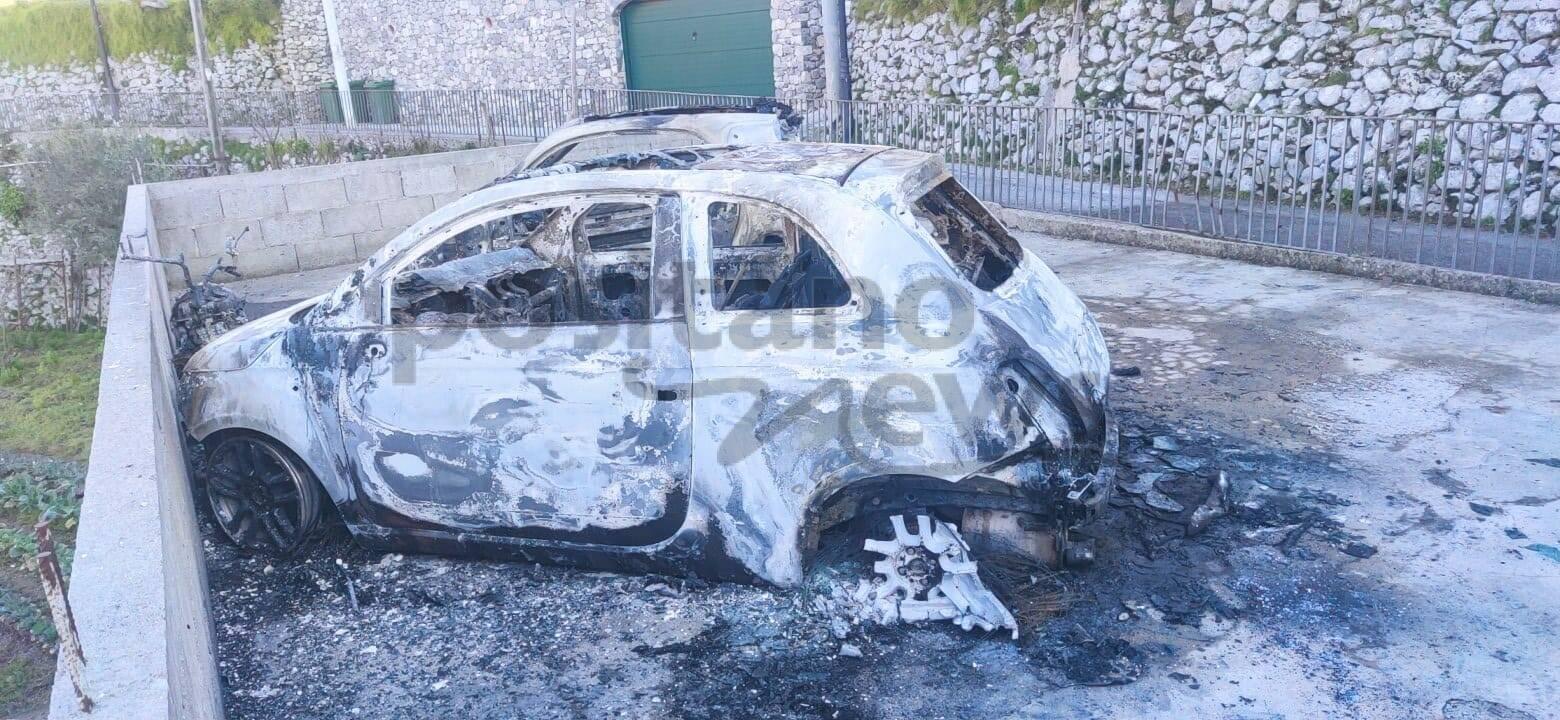 Ravello, auto incendiate nel corso di questa notte