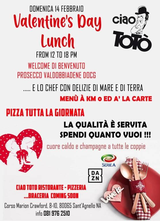 San Valentino da Ciao Totò a Sant'Agnello