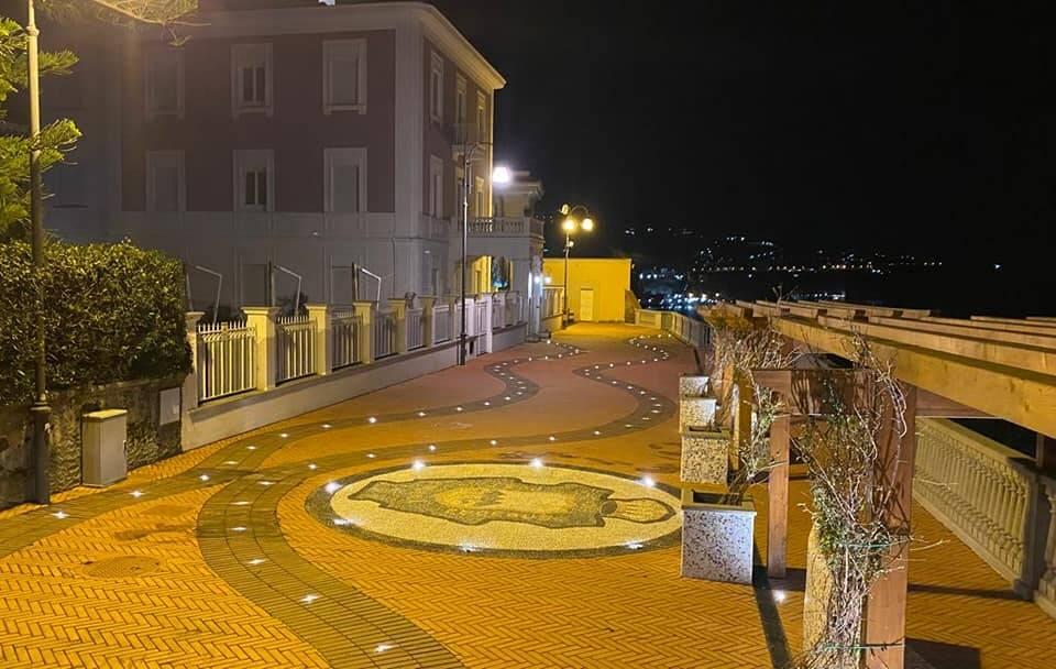 Sant'Agnello: inaugurato il restyling del Belvedere dei Cappuccini