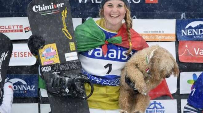 Snowboard: mondiali, azzurra Moioli d'argento