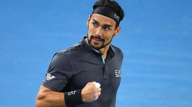 Tennis, Australian Open. Che spettacolo Fognini: De Minaur travolto in tre set