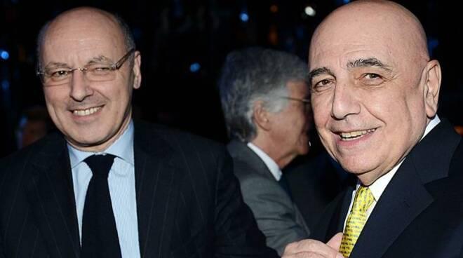 Adriano Galliani e Beppe Marotta in ospedale per Covid
