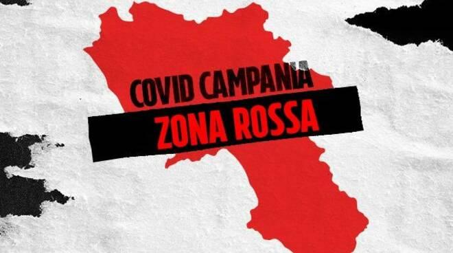 Campania zona rossa: i divieti, le aperture e le sospensioni in vigore da lunedì