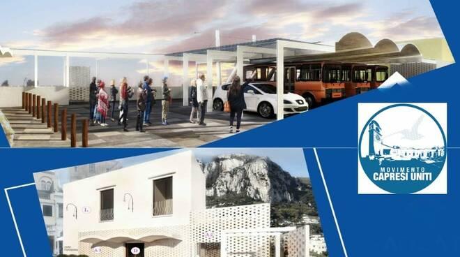 Capri, finalmente la nuova funzionale e moderna Piazza Ungheria
