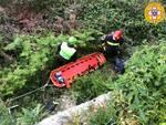 Capri, il Soccorso Alpino e Speleologico della Campania soccorre un'escursionista ferita
