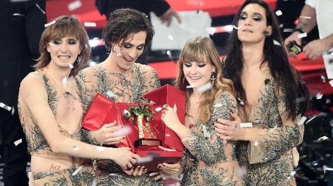 Vincitori Sanremo 2021: Maneskin con \'\'Zitti e Buoni\'\'