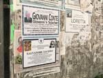 Si finge morto in una social performance. Singolare protesta di Ischia Street Art