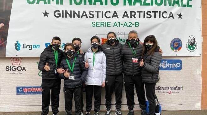 Ginnastica, il C.G.A. Stabia in corsa per la Serie B maschile