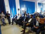 ASL Salerno-Regione Campania , le foto del Cav. N.H. Attilio De Lisa con il Presidente Vincenzo De Luca in visita all'ospedale di Sapri che ha inviato alla Segreteria Presidenza
