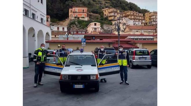 Cetara, la Protezione Civile riceve in dono due mezzi da parte della Guardia Costiera