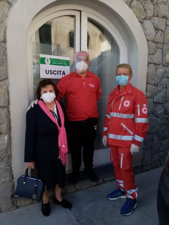 CRI Comitato Costa Amalfitana impegnata per la somministrazione dei vaccini a Positano e Maiori