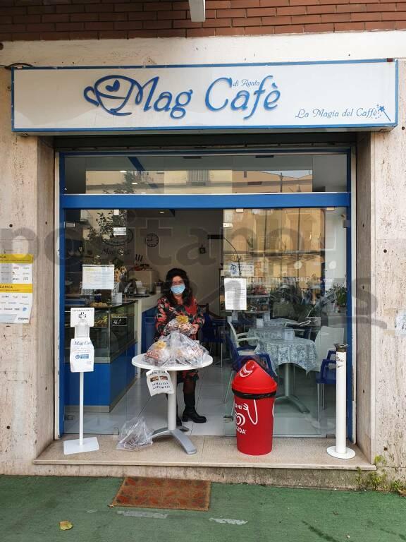 Da Positano a Sorrento: le colombe di Giosuè Castellano arrivano anche al Mag Caffè