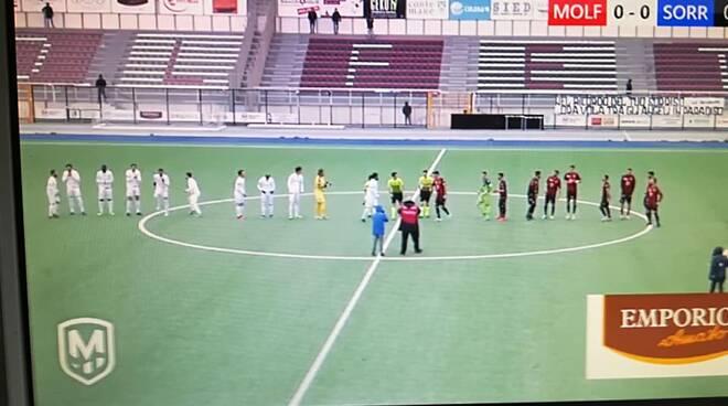 Foto tratta dal video di Molfetta Calcio