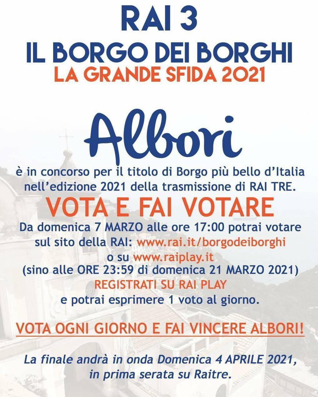 Il Borgo dei Borghi, la grande sfida 2021: votiamo per Albori, la frazione più piccola di Vietri sul Mare