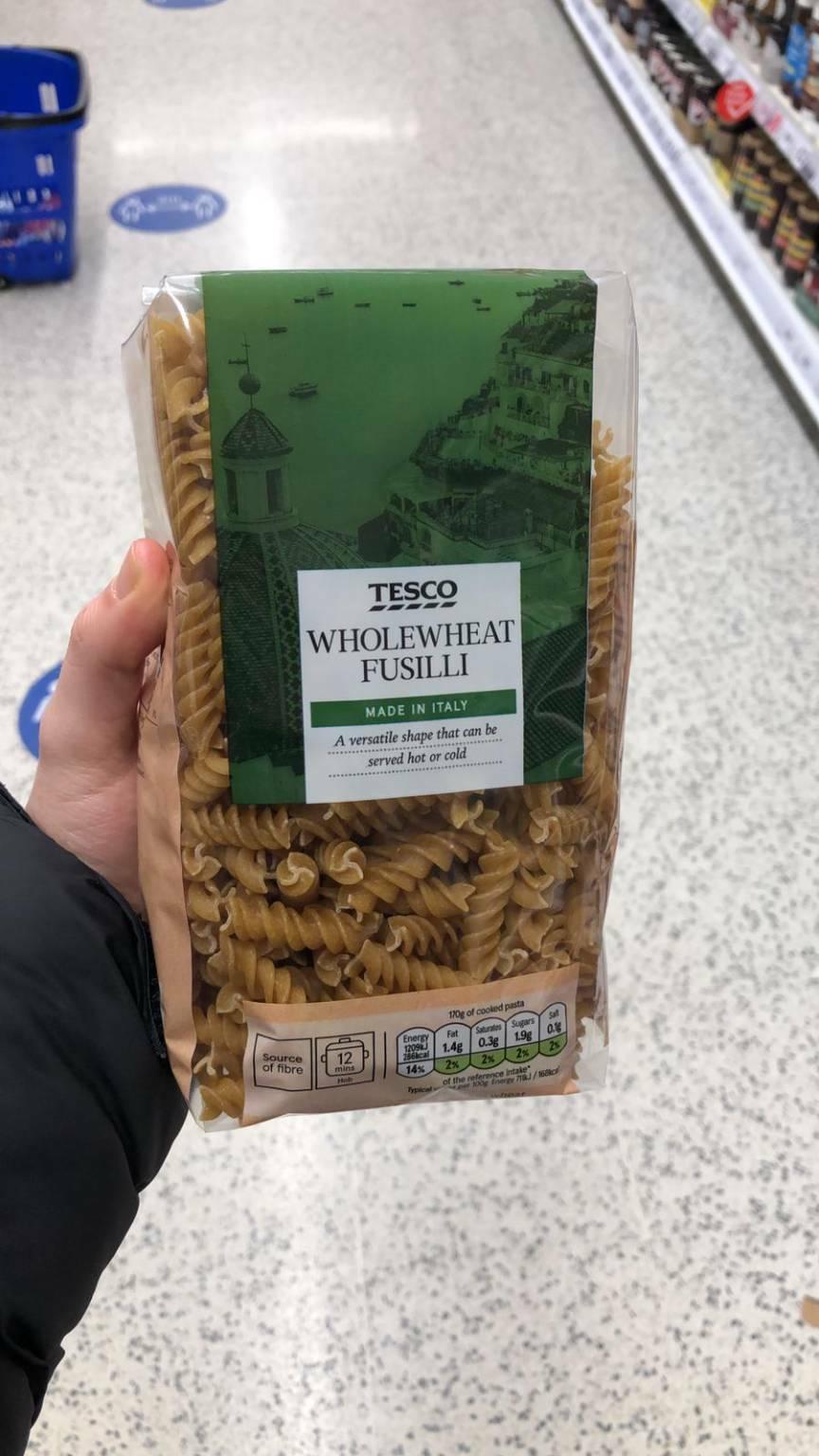 """In Inghilterra l'immagine di Positano per la pasta """"made in Italy"""""""