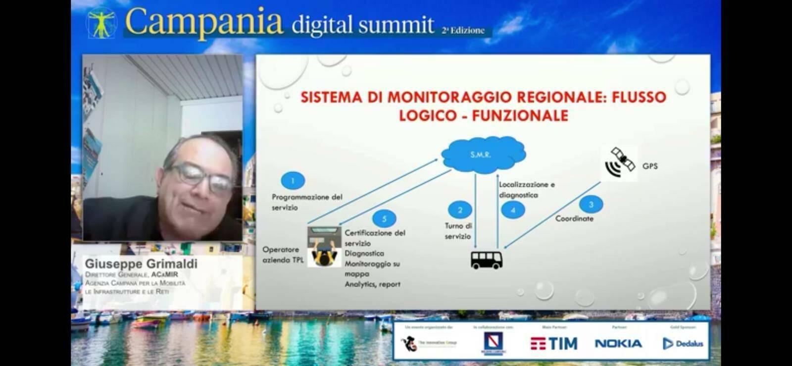 """""""Intelligent Transport System della Campania (I.T.S.C.) """": Grimaldi, chiuderemo buona parte del progetto entro la fine dell'anno"""""""