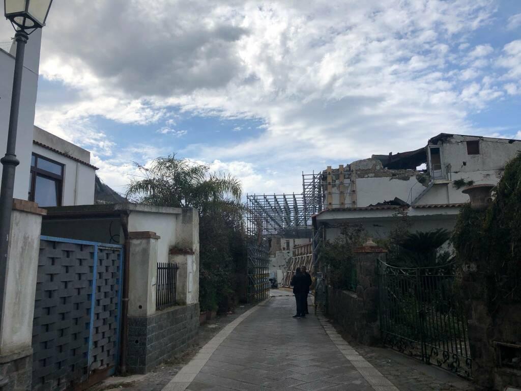 Ischia, dopo quattro anni dal terremoto riapre Via D'Aloisio