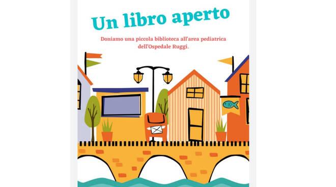 """La costiera amalfitana partecipa a """"Un libro aperto"""" per i bimbi ricoverati al Ruggi d'Aragona di Salerno"""
