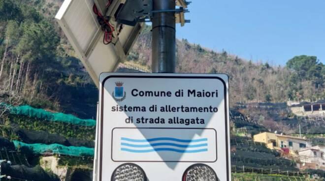 Maiori: sistema di allertamento idrogeologico installato a Ponteprimario e in zona Casa Imperato Superiore