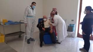 Massa Lubrense: Gennaro Maresca il primo vaccinato over80!