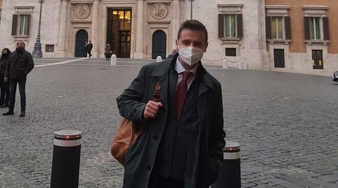 Massimo Coppola sindaco Sorrento a Roma