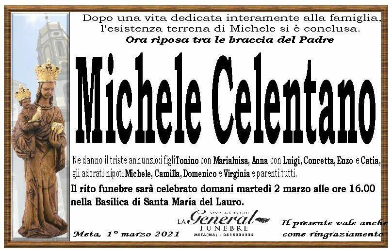 Meta in lutto: ci ha lasciati Michele Celentano
