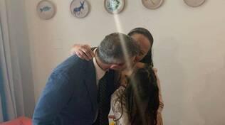 """Minori in festa per il matrimonio di Franco Ferrara e Valeria Apicella. La figlia Penelope: """"Sono proprio fortunata!"""""""