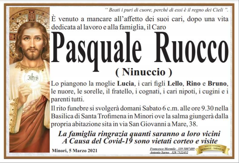 Minori piange la scomparsa di Pasquale Ruocco (Ninuccio)