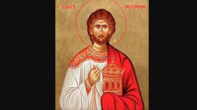 Oggi la Chiesa festeggia San Beniamino