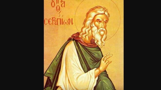 Oggi la Chiesa festeggia San Serapione di Thmuis