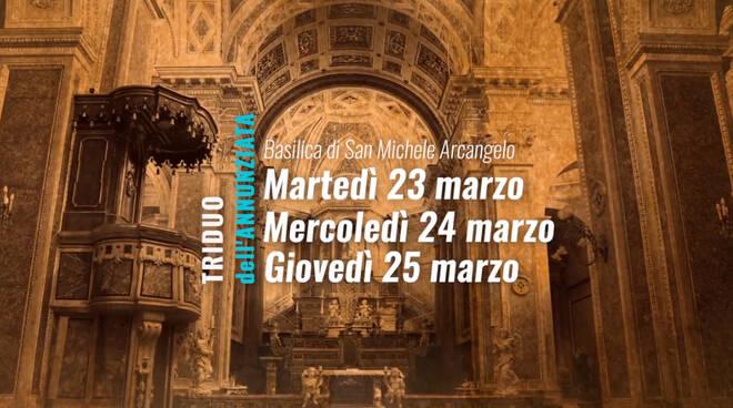 Piano di Sorrento, l'Arciconfraternita Santissima Annunziata invita al triduo di preghiera