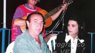 Pippo Baudo ad Amalfi con Laura Pausini