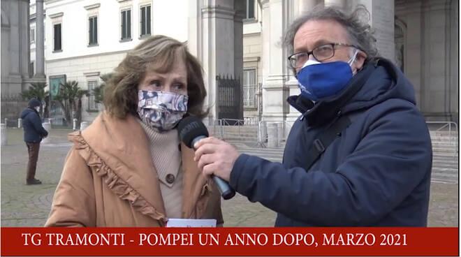 Pompei un anno dopo, l'intervista alla poetessa e scrittrice Annamaria Farricelli